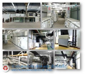 AIR CONDITION WORK FOR AHU SYSTEM