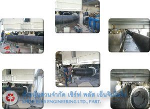 Piping System / Hanger Tray / Steel Support